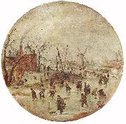 AVERCAMP, Hendrick Winter Landscape with Skaters  fff oil painting picture wholesale